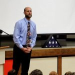 Mr. Krause honors veterans